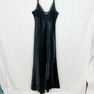 VTG Victoria's Secret Gold Label Maxi Nightgown L